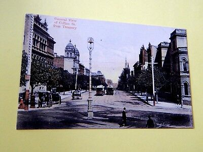 ".1906.View of Collins St.from Treasury.. Melbourne.. Australia . .   ""L@@@K""."