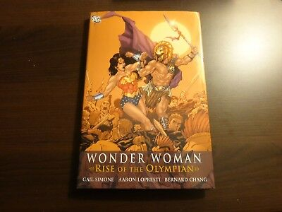 Dc Wonder Woman Rise Of The Olympian Hc Hardcover