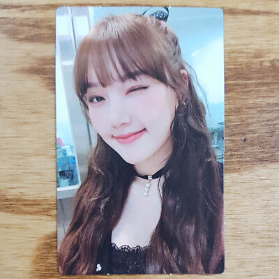 Yerin Official Photocard GFriend Time for us 2nd Album Kpop Genuine