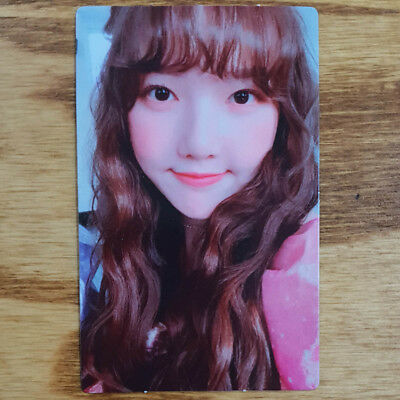 Yerin Official Photocard GFriend Time for us 2nd