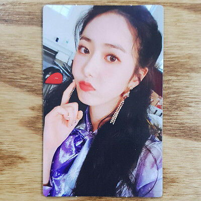 Sinb Official Photocard GFriend Time for us 2nd Album Kpop Genuine