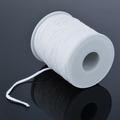 Spool of Cotton Square Braid Candle Wicks Wick Core Candle Making Supplies USA