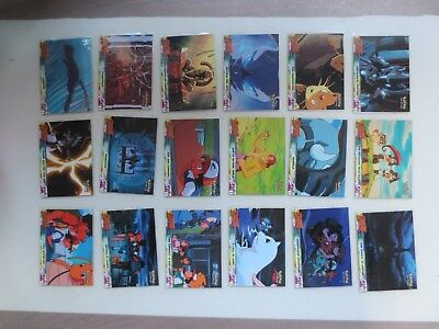 Topps Pokemon The First Movie (Mewtwo Strikes Back) Complete Trading Card Set