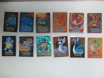 Topps Pokemon The First Movie 12 Foil Card Lot (E1 to E12)
