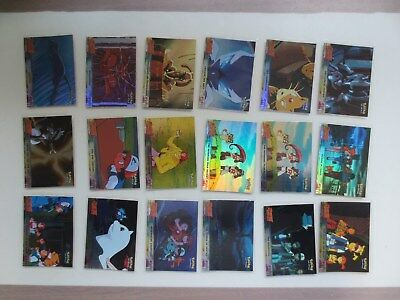 Topps Pokemon The First Movie 18 Foil Card Lot A