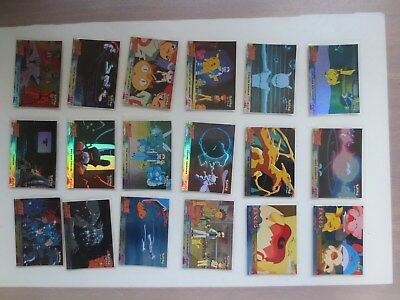 Topps Pokemon The First Movie 18 Foil Card Lot B