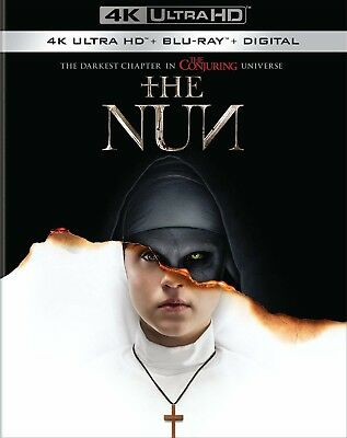 The Nun [New 4K Ultra HD] With Blu-Ray, 4K And Digital Copy, Free Shipping