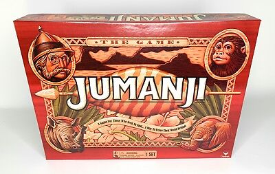 Jumanji 2017 Board Game New Sealed Cardinal