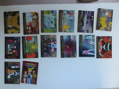 Topps Pokemon TV Animation Edition Series 2 - 14 Foil Card Lot