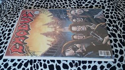 Exodus Comic Book Rock And Roll Biography Heavy Metal 9.6 Near Mint+ Slayer