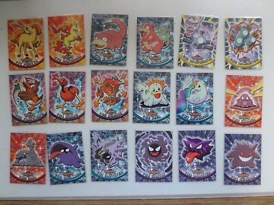 Topps Pokemon TV Animation Edition Series 2 Complete Set