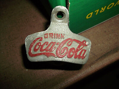 "Collectible Vintage Coke Wall Hanging Opener - Cast Iron Starr ""x"""
