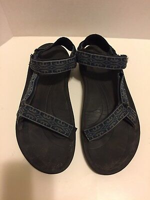 38d6cbab6278 TEVA HURRICANE II Mens Sport Sandals 6461 Shoes Sz US 12 Aztec Black ...