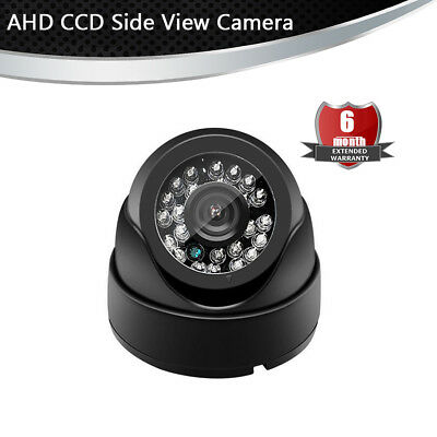 4 PIN Night Vision AHD CCD Side View Camera 120° Viewing Angle For Car Truck