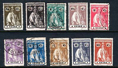 Nice Portugal GUINE Stamp Lot