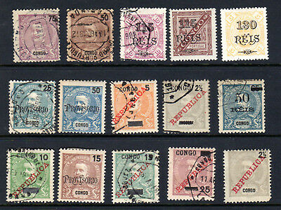 Nice PORTUGUESE CONGO Stamp Lot, Mint & Used #2