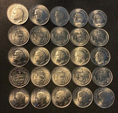 Old Middle East Coin Lot - 25 AWESOME Uncirculated COINS - Lot #J19