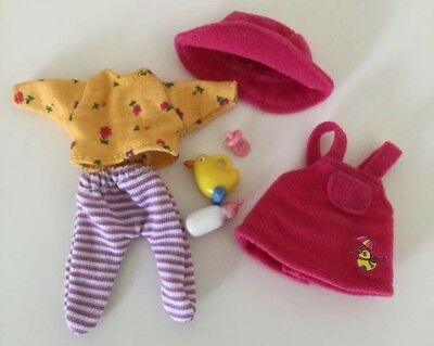 Zapf Creation Baby Born Mini World Everyday Outfit Set- Great Condition!