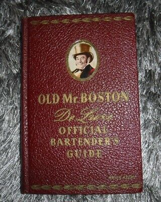 Old Mr. Boston De Luxe Official Bartenders Guide 4Th Printing 1940 Recipes Book