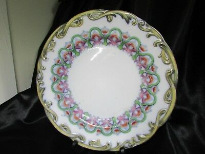 Early Antique Translucent English Plate Minton 1800 - 1830