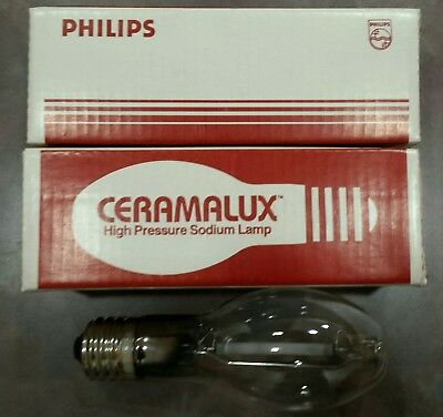 Philips Ceramalux C150S55/M High Pressure Sodium Light Bulbs. Lot of two(2). New