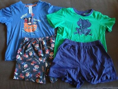 2 pairs of PJs - size 6 - great condition