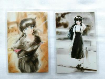 Kimagure Orange Road Ramicard Laminated Card X2 Akemi Takada Max Et Compagnie