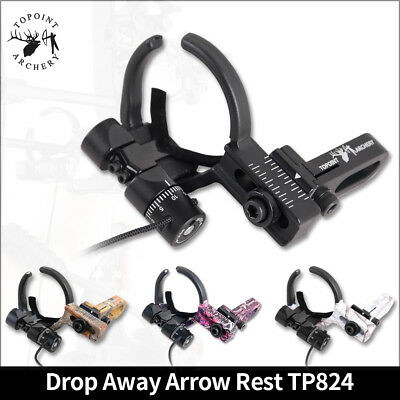 Archery Drop Away Arrow Rest Fall Micro Adjustable Compound Bow RH LH Hunting