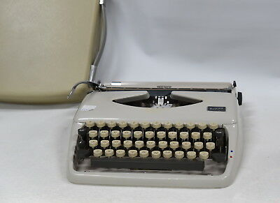 Triumph Tippa Vintage Typewriter from Grundig Corporation - Made in Germany