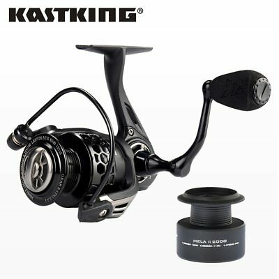 KastKing Freshwater Fishing Reel Mela II Upgrading Carbon Fiber Spinning Reel
