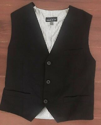 Boys Industrie Formal Vest, Size 10. Good Condition.