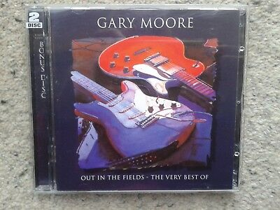Out In The Fields: The Very Best Of Gary Moore -2 Cd Set- 1998 Limited Edition