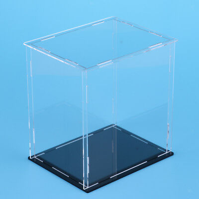 Clear Acrylic Display Case Box 18x14x25cm for Action Figure Toy Collectibles