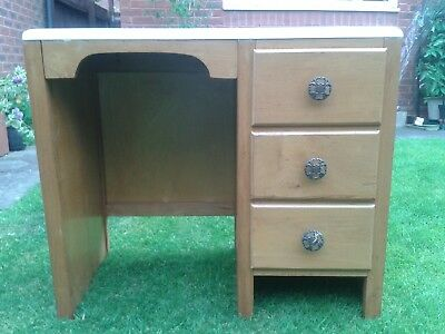 VINTAGE 1950's WOODEN DESK- SMALL/CHILD'S SIZE