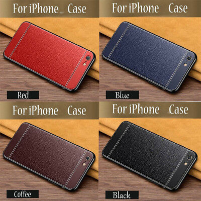 Business Style TPU+PU Flip Leather Protection ShelL Case Cover For iPhone 4/5/6/