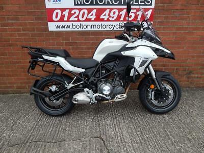 Benelli Trk 502 Adventure Motorcycle