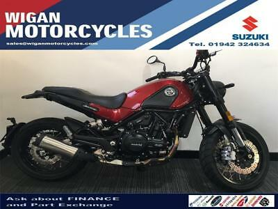 2018 Benelli Leoncino Trail 500..140.63 Over 48M With A 199 Dep.9.9% Apr