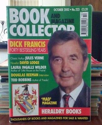 Book and Magazine Collector #223 Oct 02 Dick Francis Jules Verne