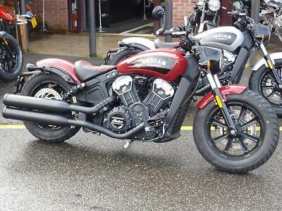 Indian Scout Bobber Abs 2-Tone Brand Nw For 2019 Reg