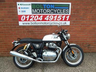 Royal Enfield Chrome Continental Gt650 Motorcycle