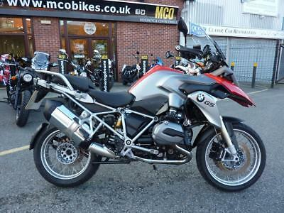 BMW R1200GS TE Red/Silver 16/16reg Mint Condition 7991miles FSH