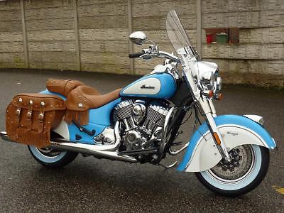 Indian Chief Vintage 2-Tone Brand Nw For 19 Reg