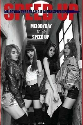 K-POP Melody Day 3rd Single Album - [SPEED UP] CD + Booklet Sealed