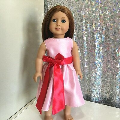 American Girl Our Generation Journey Girls 18 inch Doll Clothes Pink Dress