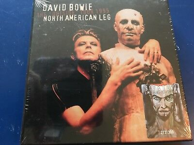 David Bowie - Rare Limited Edition Numbered 9 Cd 1 Dvd Outside Tour 1995
