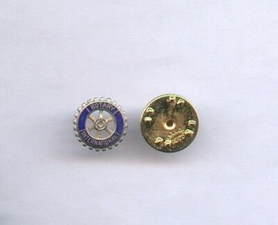 Petit Pin's émaillé Club ROTARY INTERNATIONAL 1 cm
