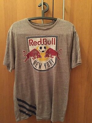 Adidas New York Red Bulls T-Shirt Medium