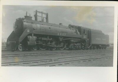 Railroad Photo Canadian Pacific Railways Steam 4-6-4 # 2847 Winnipeg, Mb 1954