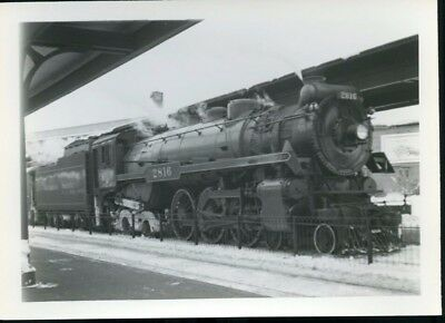 Railroad Photo Canadian Pacific Railways Steam 4-6-4 # 2816