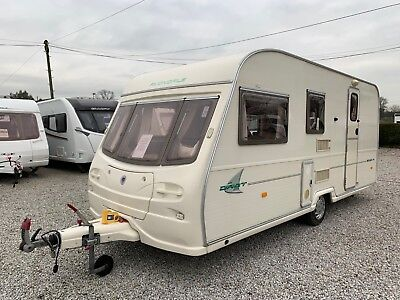 2003 Avondale Dart 515 - End Washroom - Side Dinette - Trade PX Touring Caravan